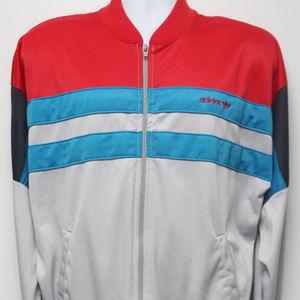 "90's Vintage ""ADIDAS"" Color Blocked Track Jacket"